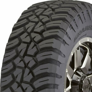 4 New Lt255 75r17 General Grabber X3 111 108q C 6 Ply Tires 4505750000