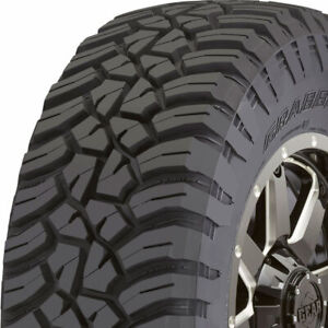 1 New Lt255 75r17 General Grabber X3 111 108q C 6 Ply Tires 4505750000