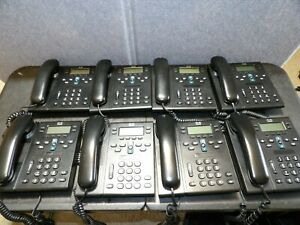 8 Cisco Cp 6941 Business Phones stands Not Included