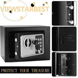 Hand Gun Pistol Safe Lock Box Security Electronic Lock Cash Storage Home Case