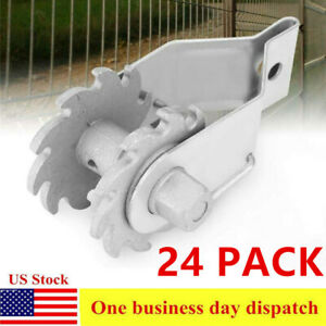 24 Pack Inline Ratchet Wire Strainer Electric Fence Tensioner Farm Fence