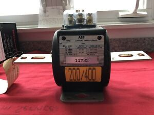 Brand New Abb Type Cmf 200 400 Current Transformer Free Shipping