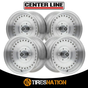 4 Centerline 071005p Auto Drag 15x10 5x4 50 81 00 Hub 16 Brushed Wheel Rim