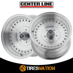 2 Centerline 071005p Auto Drag 15x10 5x4 75 81 00 Hub 16 Brushed Wheel Rim