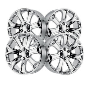 4 Oe Performance 100166c 22x9 6x5 50 78 10 Hub 24 Chrome Plated Wheel Rim