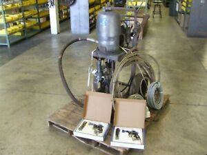 Custom Refurbished Graco 41 1 two Gun Air assited Airless Spray System