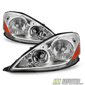 For 2006 2010 Toyota Sienna Halogen Type Headlights Headlamps 06 10 Left Right