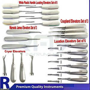 Dental Luxation Elevators Surgical Tooth Loosening Extracting Oral Surgery Tools