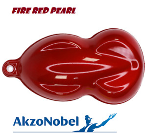 Fire Red Pearl Gallon Urethane Basecoat Clearcoat Car Auto Paint Kit