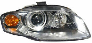 New Tyc Headlight Assembly Rh Passenger Side Hid W O Curve Audi A4 S4 Rs4