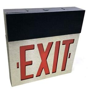 Dual Lite Spectron Excalibur Series I Gmmel sd5 Emergency Exit Sign W directions