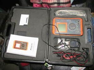 Snap On Eeos300a Micro Scope Diagnostic Power Graphing Meter