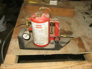 Snap On Fuel Injection System Cleaner Mt338a Tool Garage Mechanic