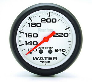 Auto Meter 5832 Gauge Water Temperature