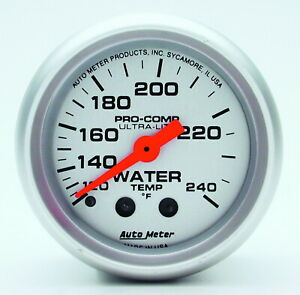 Auto Meter 4332 Gauge Water Temperature