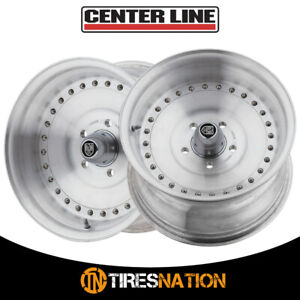 2 Centerline 071005p Auto Drag 15x10 5x4 50 81 00 Hub 16 Brushed Wheel Rim