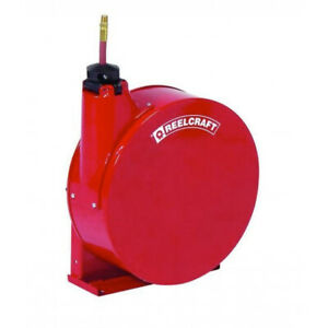 Reelcraft 5435 elp 1 4 X 35 Enclosed Reel 300 Psi Air water With Hose