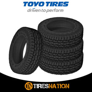 4 New Toyo Open Country A t Ii 265 70 17 121 118s All terrain Tire