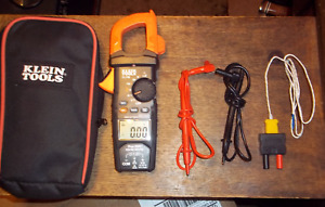 Klein Cl700 600 Amp Ac True Rms Auto ranging Digital Clamp Meter With Temp