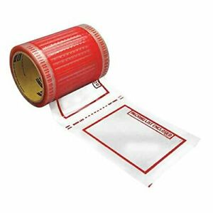 3m 829 5 In X 6 In Scotch Packing List Tape