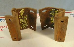 1936 1937 1938 Dodge Pickup Panel Truck Windshield Hinges Plymouth Originals