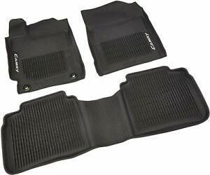 Genuine Oem All Weather Rubber Floor Mat Set For Toyota Camry 2015 2017