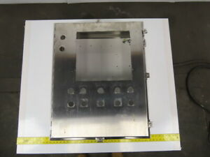 Stainless Steel Wall Mount Electrical Box enclosure 30x24x8 W backplate
