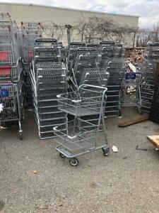 Shopping Carts Small Metal Double Basket Lot 10 Mini 2 Tier Buggy Store Fixtures