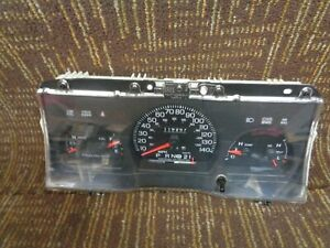 98 02 Ford Crown Victoria Speedometer Instrument Cluster 119k Miles 5w7310849dh