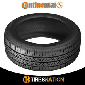 1 New Continental Truecontact Tour 215 45r17 87v Tires