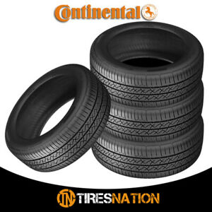 4 New Continental Truecontact Tour 215 45r17 87v Tires