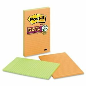 3m 5845 ssan 5 In X 8 In Post it r Super Sticky Notes 58