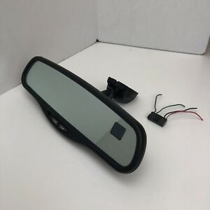 Gentex 177 010103 Rear View Mirror W Dual Display Compass Temperature