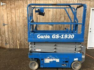 Genie Gs 1930 Self propelled Electric Scissor Lift Only 51 Hours