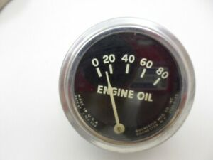 Nos ford Tractor Vintage Rochester Oil Gauge Assembly Fad 273a new