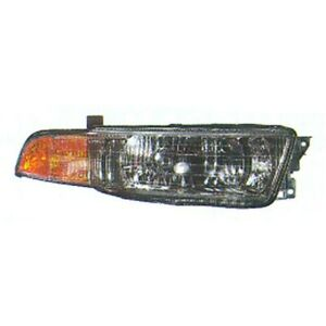 Mi2503111 Right Passenger Side Head Light Assembly For 1999 01 Mitsubishi Galant