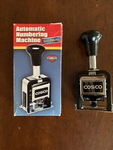 New Cosco Automatic Numbering Machine With Self Inking Ink Self inking Self ink