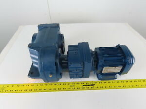 Sew Eurodrive Fa67b R37 Drs71s4 Parallel Shaft Helical Gearmotor230 460v 32rpm