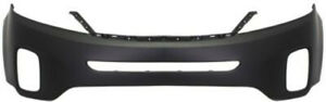 Primed Front Bumper Cover Replacement For 2014 2015 Kia Sorento