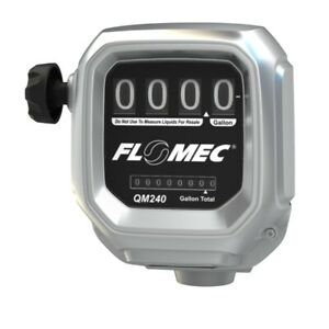 Flomec 139121 06 Qm240n10 Mechanical Fuel Meter