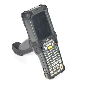 Motorola Symbol Mc9090 Windows Mobile Computer Laser Barcode Scanner W Battery