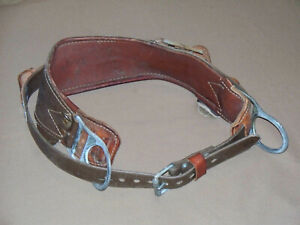 Bashlin 1511n d24 the Wrangler 2 D ring Linemen Tool Belt Climbing Equipment