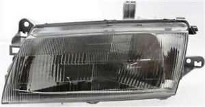 Left Driver Side Headlight Head Lamp For 1997 1998 Mazda Protege