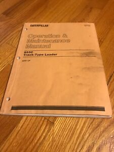 Genuine Cat Caterpilar 963c Track Loader Operators Manual