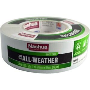 1 89 X 60 Yd 398 All weather Hvac Duct Tape White All weather Superior Adhesive