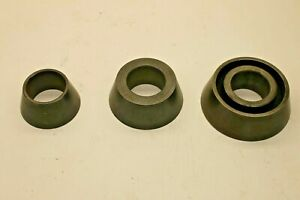 Large Centering Cone Set For Brake Lathe 2 1 2 Arbor 3 6 Ammco Van Norman