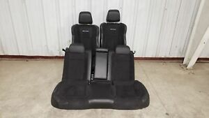 2019 Dodge Charger Daytona Seats Front Rear Left Right Black Leather W Suede Oe