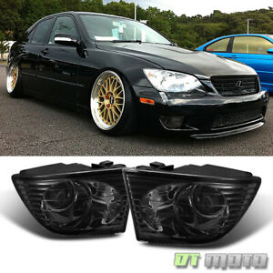 For Smoke 2001 2005 Lexus Is300 Projector Fog Lights 01 05 Bumper Driving Lamps