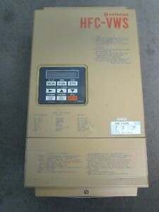 Hitachi Hfcvws 11ld3 200v 22amp Variable Frequency Drive Xlnt Used Takeout M o