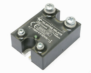 Teledyne Thermatics S20dc100 100 Amp Solid State Relay